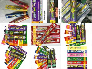 2020 6 Styles MEDICATED Nerds Rope Empty Gummy Candy Bag Plastic Edibles Retail Packaging Three Edge Sealing Bag Foil Food Package bwkf TFSp