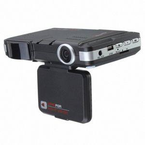 2 em 1 multifunções Car DVR Gravador de 5 MP Radar Speed Detector Trafic Veículo Alerta Laser Detector fgDd #