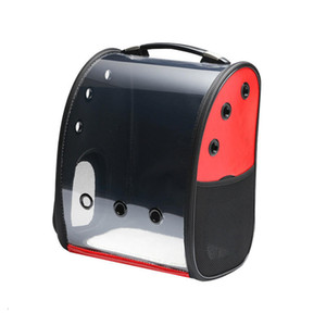 Pets Cats Dogs Portable Carrier Space Capsule Transparent Breathable Backpack Collapsible Travel Bag