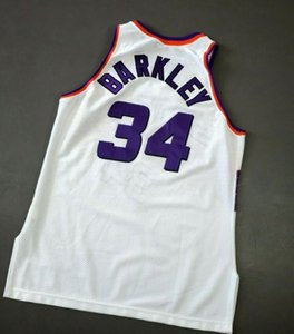 Custom Men Youth women Charles Barkley Basketball Jersey Size S-3XL or custom any name or number jersey