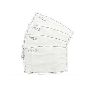 10 PCS / BOX PM2.5 P2 قناع الوجه تصفية الكربون المنشط التنفس مرشحات