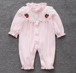 High quality baby clothes girls 3 6 9 12 m bodysuit soft cotton cute baby party birthday wedding christening shower gift