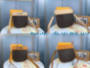 Top-44686 The new 2020 fashion versatile leather one-shoulder cross-body handbag ladies casual bag