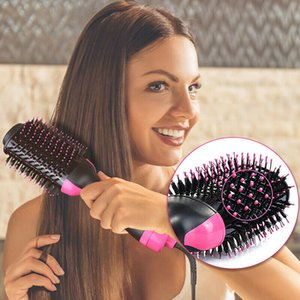 One Step Styler Fön Comb Luft Volumizer Schlag-Strecker und Lockenwickler mit negativen Ionen für alle Haartypen