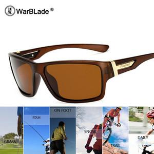 Warblade Marca Promuovere occhiali da sole polarizzati Nuovo 2020 occhiali da sole uomini Lens occhiali Polaroid Occhiali da sole UV400 Punti