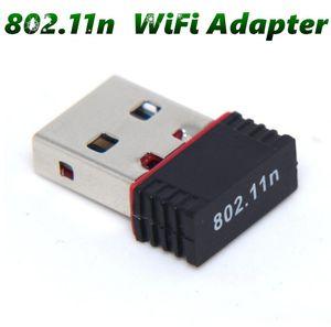 150M del USB WiFi adaptador sin hilos 150Mbps de IEEE 802.11n g b Mini Antena adaptadores chipset MT7601 Tarjeta de red MQ500