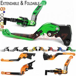 Adjust Levers For APRILIA Pegaso 650 Strada 2005-2010 2006 2007 2008 2009 2010 motorcycle CNC Folding Extendable Clutch brake 4qzW#