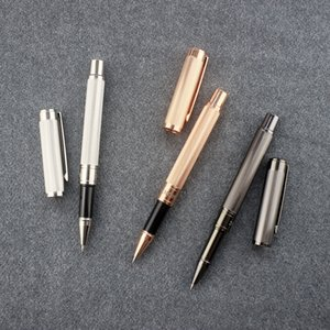 14k Golden Rollerball Pen Handmade Vintage Stationery Products Men Student School Office Supplies Limited Edition Roller Pens Set