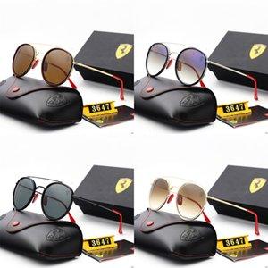 Venta caliente de la moda de Nueva unisex nuevo estilo multicolor verano Gafas de sol Sombra 500Pcs Lote # 987