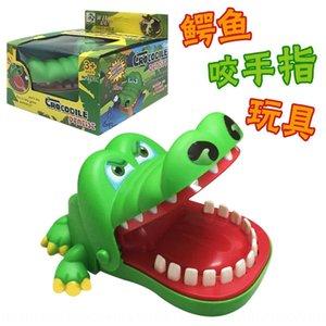 عض يد تمساح لعبة كبيرة أسنان الفم عض أصابع سمك القرش خدعة الضغط وإزالة الضغط قطعة أثرية محاكاة ساخرة TikTok نفس لعبة