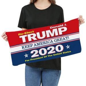 Microfibra Trump toalha de rosto 35 * 75 centímetros eleição americana Quick Dry absorvente Sports Towel tornar a América Great Again Toalhas DHF399