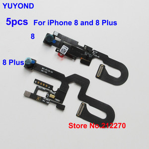 YUYOND Front Camera With Proximity Sensor Light Flex Cable For iPhone 8 Plus Replacement 10pcs lot Wholesale