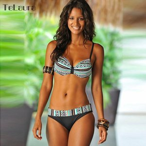 2019 New Sexy Bikini Women Swimwear Push Up Swimsuit Bathing Suit Plus Size Swimwear Biquinis Summer Beach Wear Swim Suit Female T200708
