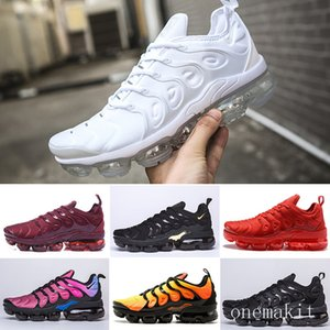 2019 new TN Plus air men women running mens Designers fashion  max shoes Wave Runner Training chaussures Sneakers RT1-F