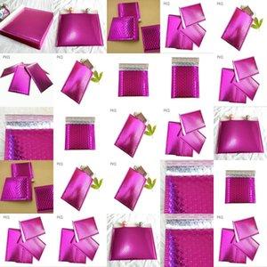 1375X11 Bubble Polymailer проложенные Конверты 1375 X 11 дюймов Peel печать Фиолетовый 50 Упаковка Bubble Polymailer проложенный Конверты eypft qpseller