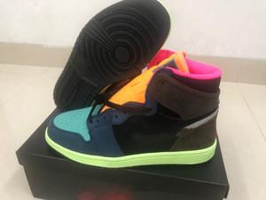 2020 neue High OG 1s Bio Hack-Basketball-Schuhe Jumpman Männer Sport-Turnschuhe des Chaussures Trainers Schuhe Schuhe Größe 7 ~ 12