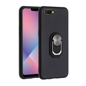 Bumper phone Case For Huawei P Smart Z Honor 10 Lite Y5 Y6 Y7 Pro Y9 Prime 2019 Car Ring Stand Holder Protective Case Capa