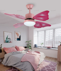 220v Modern Creative butterfly Ceiling Fans With Lights Home Decorative Room Fan Lamp Ceiling Fan Remote Control LLFA