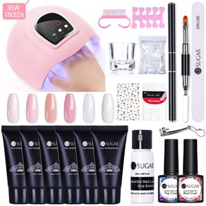 UR SUGAR 30ml Poly UV Gel Nail Kit All For Manicures Gel Nail Extension Set Acrylic Solution Water Builder Polish For Nails