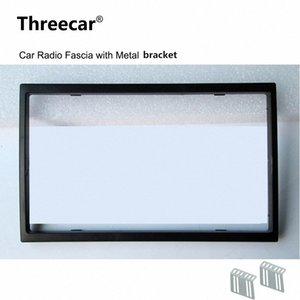 2 Din Car Radio fascia para la instalación radio de coche 7018B 7010B 7200C 7652D 7010G 7018G Recorte Fascia Placa frontal marco del panel de DVD WWfA #