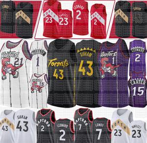 Pascal 43 Siakam TorontoRaptorsformaları Fred 23 VanVleet Vince 15 Carter Tracy McGrady 1 Dwyane Wade 3 Basketbol Forması