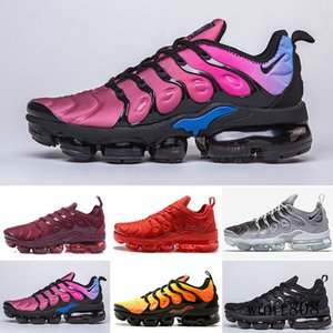 New Arrivals chaussure TN Plus running Shoes tn Men Outdoor Run Shoes Black White Trainers Hiking Sports Athletic Sneakers EUR40-45 KY6LM