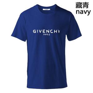 2020 yüksek kaliteli yeni erkek kısa kollu yaz moda basit stil t shirt erkek gömlek iyi erkek giyim Givency