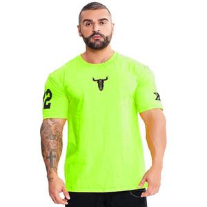 Спортивные рубашки Мужчины Топы Тис Running Рубашки мужские Gym тенниска спорта Фитнес-Джерси Quick Dry Slim Fit Camiseta работает Hombre