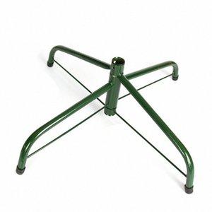 Árbol de Navidad caliente del hierro del sostenedor del soporte Base de soporte del pie almohadilla de goma Decoración para el hogar MDD88 r4cT #