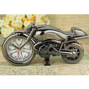 Retro regalo modello del motociclo Alarm Clock decorazione domestica sveglia Super Cool Moto Sveglie vacanza creativa Decor DBC BH0824