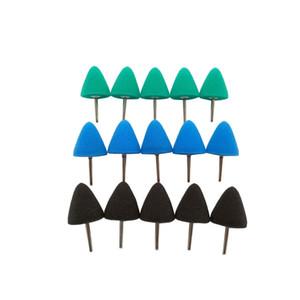 Cheap Waxing Sponge Blue mini cone polishing Pad Detail sponge Buffing Pad for Rotary tool Polisher Electric Drill Waxing, Sealing Glaze