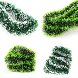 Christmas decoration10cm*2m green colorful ribbon Wire stage decoration wedding  bar door and window  Christmas tree decoration banquet set