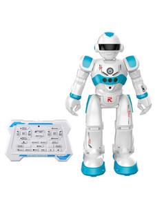 Freeshipping RC Toy Robot Gesto Programação Intelligent Sensing velocidade de ajuste inteligente do robô com deslizamento Walking Modos For Kids