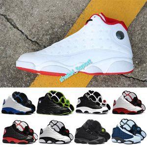 AIR 13 Reverse He Got Game Island Green Flint Men Basketball Sneakers DMP Melo DMP Playoff Hyper Royal Shoes