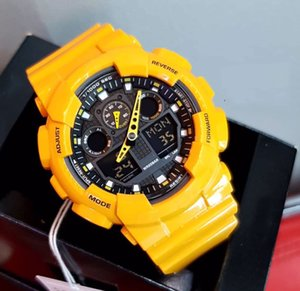 Factory New Hot Sellling Luxuries Mens Watches Fashion Trend Fitness Multifunctional LED g Style Shock Watch Waterproof Shockproof Wholesale