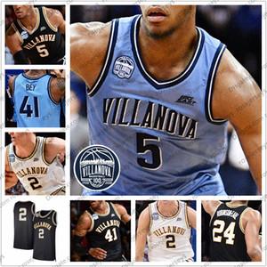 Personalizado Villanova Wildcats Basketball 1 Kyle Lowry Jalen Brunson 4 Eric Paschall 10 Donte DiVincenzo Omari Spellman 25 Bridges 5 Booth Jersey