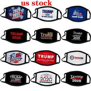 DHL 2020 Election Trump Cotton Mask Keep America Great Again Cosplay Biden Partei-Gesichtsmasken Antistaub Umweltverschmutzung Mundschutz FY9158