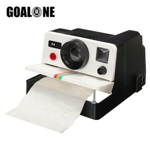 GOALONE Retro Camera Toilet Paper Holder Plastic Toilet Tissue Box Paper Roll Holder Dispenser Household Bathroom Accessories T200425