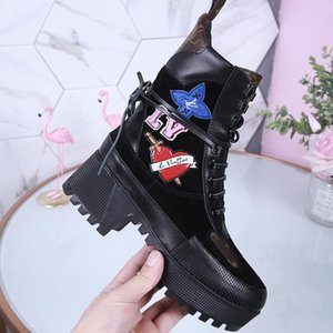 Women Winter Ankle Boots Fashion Shoes Luxury Chaussures De Femme Martin Boots Lady Casual Shoes For Party Luxury Footwears L988 Fast Ship