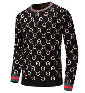 de gama alta internacional nuevo de alta calidad suéter capa de la manera camiseta suave delgado caliente de doble capa ocasional punto M - 3XL