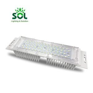 تخصيص DC 50W LED PCB محرك وحدة ضوء الشارع الإدخال DC12V أو 24V الخيارات مع عدسة