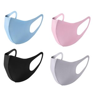 Mouth ice Mask Ice washable Breathable Unisex Face Masks Reusable Anti Dust Dust Fog Anti Pollution Mouth Cover