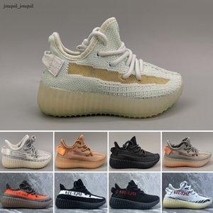 Adidas Yeezy 350V2 Yeni Çocuk Ayakkabı Çocuk Bebek Eğitmenler Atletik Doğa Sporları Ayakkabı Erkek Bebek Kız için spor ayakkabıları Koşu Mesh