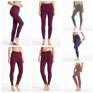 2020 top lu-32 leggings solid color womens lu yoga white icon pants 32 016 25 78 women sports workout seamless pink camo yogaworld set 1311#
