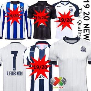 le club mexicain de Monterrey Rayados 2020 75 ans de football maillot celeberates 75e anniversaire D.PABON R.FUNES MORI Camiseta de futbol uniforme