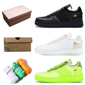 zapatos nike air force 1 af1 off white casuales para hombre zapatos de baloncesto para mujer dunk blanco puro negro voltios para hombre zapatillas deportivas