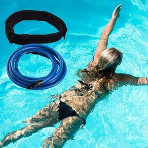 BMDT-Swim Training Belt Swimming Bungee Training Rope Swimming Resistance Bands for Stationary Resistance
