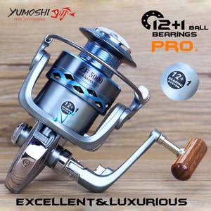 Vw Metal Fishing reel main body CNC rocker Mix drag 12kg 26lb strong Spinning reel 13BB 5.5:1 High speed carp fishing feeder