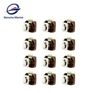 12ps lega cassetto Chiusura Blocca Button per Mobili Hardware Camper Auto spinta di blocco Manopola Caravan Boat Motor Home Gabinetto di blocco