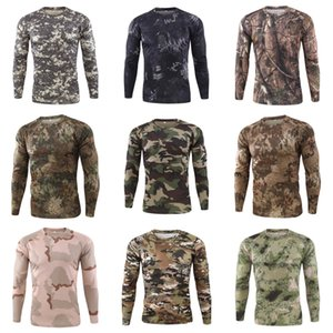 2020 Fitness MMA Shirt Men Rash Guard Hommes T-shirt à manches longues Mouvement de compression Crâne de culturisme hommes T-shirt Imprimer Top T200413 # 344